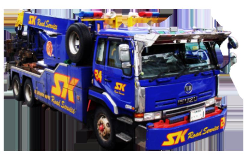 大型レッカートラック1