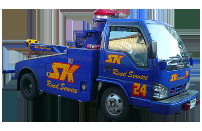 小型レッカートラック1