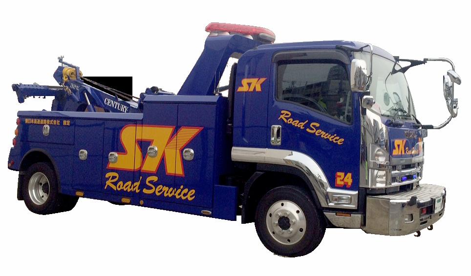 大型レッカートラック2