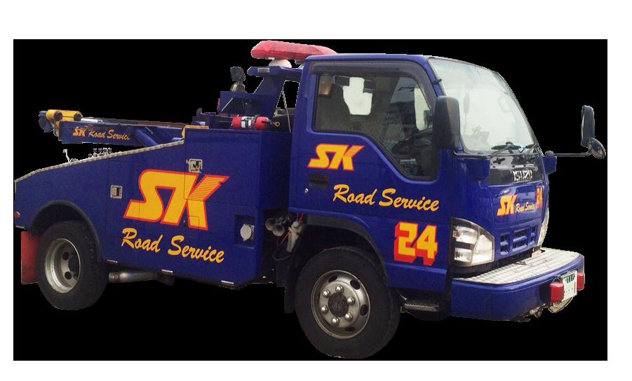 小型レッカートラック2